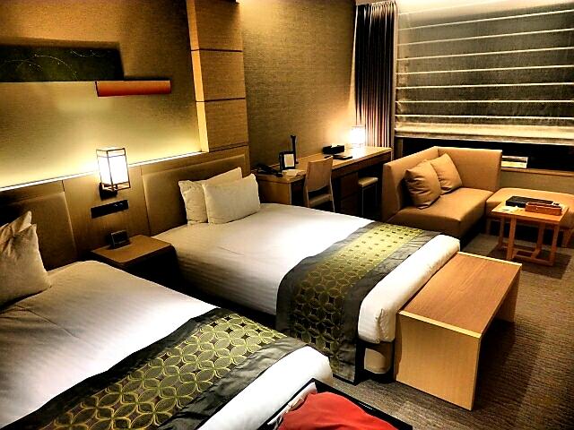 ビ福岡市内ホテルの部屋
